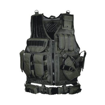 Leapers PVC-V547BT Leapers 547 Law Enforcement Tactical Vest Black