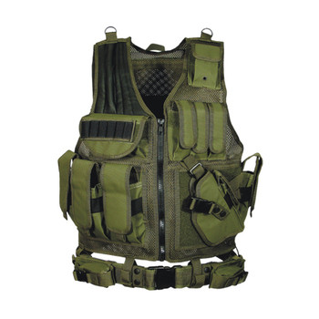 Leapers PVC-V547GT Leapers 547 Law Enforcement Tactical Vest Od Green