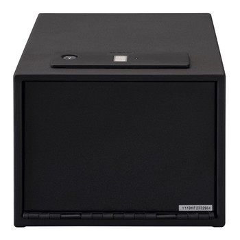 Stack On QAS-1512-B Stack-On Quick Access Safe with Shelf Biometric Lock