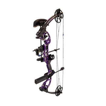 Quest RA.PKG.R.25.40-PL Quest Radical Bow Package Right Hand Realtree AP Purple