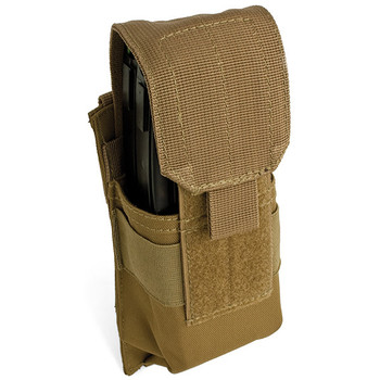 Red Rock Gear RR82-020COY Red Rock Gear Single Rifle Mag Pouch Coyote