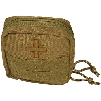 Red Rock Gear RR82-FA103COY Red Rock Gear Soldier Individual First Aid Kit Coyote
