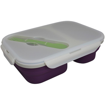 Eco Vessel SB2-P Eco Vessel Collapsible Double Compartment Container Purple