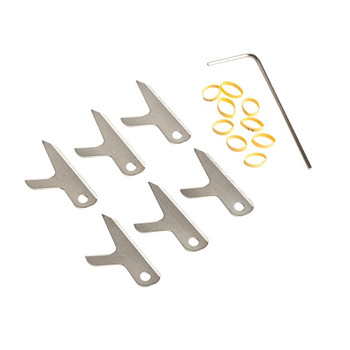 Swhacker SWH00203 Swhacker Set of 6-100 Grain 1.75 Inch Replacement Blades