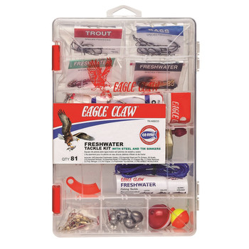 Eagle Claw TK-NEECO Eagle Claw Fresh Water Kit Lead Alternative Weights