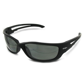Edge Eyewear TSK-XL216 Edge Eyewear Kazbek XL Polarized Black Frame Smoke Lens