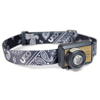 Industrial Revolution UCOHL-HUNDREDBB UCO HL-Hundred Headlamp Black Bandana