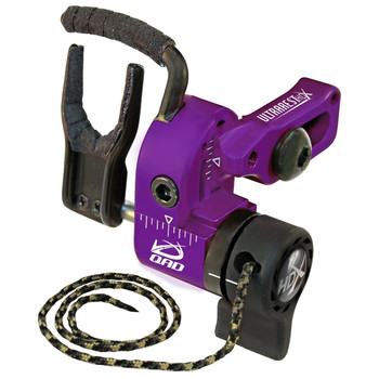 Quality Archery Designs UHXPU-L QAD Ultra-Rest HDX Left Hand Purple