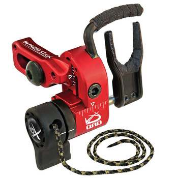 Quality Archery Designs UHXRD-R QAD Ultra-Rest HDX Right Hand Red