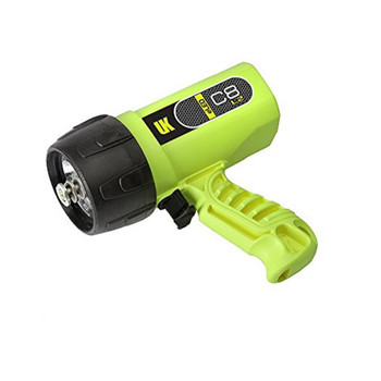 Underwater Kinetics UK519531 UK Sunlight C8 eLED L2 Dive Light Yellow