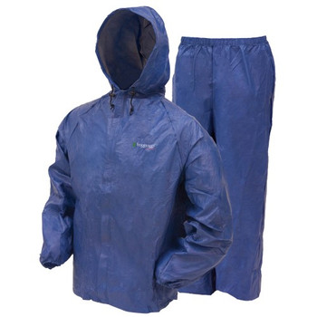 Frogg Toggs UL12104-12SM Frogg Toggs Ultra Lite Rain Suit Blue Small UL12104-12SM