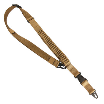 US Tactical UST-SLC00402QH US Tactical C4:  2-to-1 Point Shock Webbing Sling - Coyote