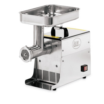 LEM Products W779 LEM 8 Lb .35 HP Stainless Steel Electric Meat Grinder