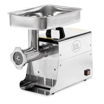 LEM Products W781 LEM 22 Lb 1 HP Stainless Steel Electric Grinder