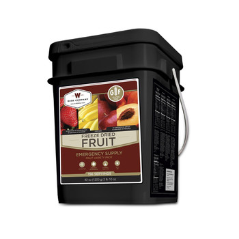 Wise Foods WGF40-50156 Wise Foods Gluten Free Freeze Dried Fruit 152 Servings