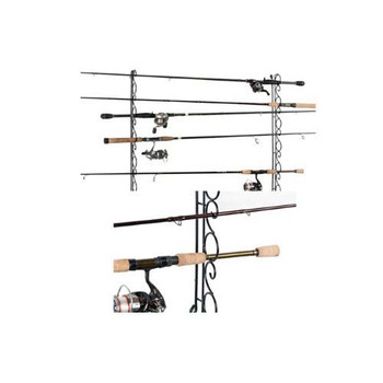 Organized Fishing WHR-009 Organized Fishing 9 Cpcty Horzntal Wire Ceiling Rack WHR-009