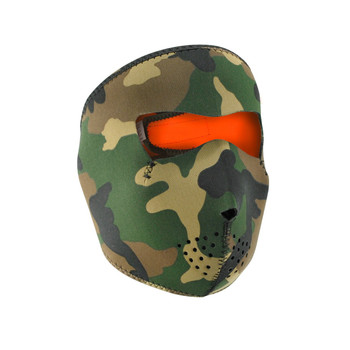 ZANheadgear WNFM118HV ZANheadgear Reversible Full Mask Camo to High-Vis Orange