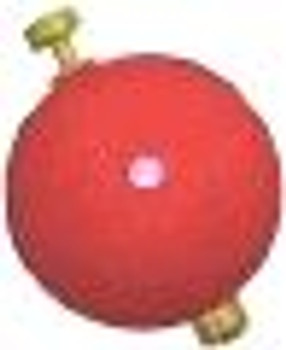 Comal WSS150R Comal Foam Float Weighed Snap On 1.5 inch Red
