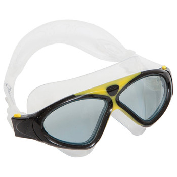 National Geographic Snorkeler Z9 Swim Mask-Coral Black & Yellow Nat Geo Z9 Swim Mask-Smoke Lenses Coral Black/Yellow
