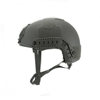 High Cut Ballistic Helmet – Urban Grey  NIJ .06 IIIA