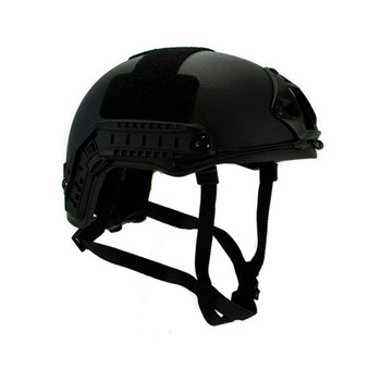 High Cut Ballistic Helmet – Black NIJ .06 IIIA