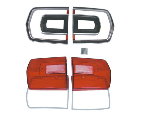 165-68GTXKIT Mopar 1968 Plymouth GTX Taillight Kit
