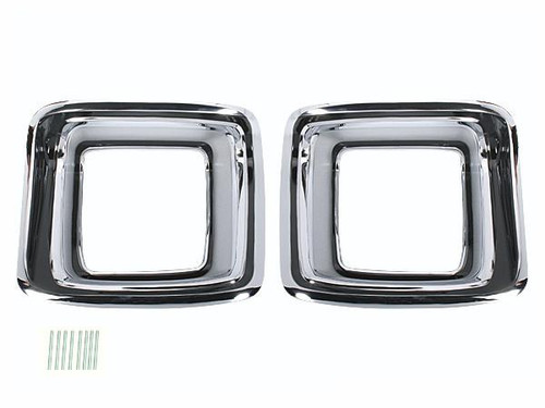 165-SET Mopar 1969 Plymouth GTX Taillight Bezels