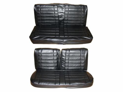 7714-BEN 1970 Coronet Super Bee Front Bench Rear Bench Seat