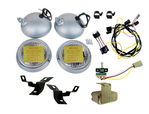 2210-KIT Mopar 1971 Plymouth Cuda Road Lamp Kit