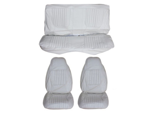 5506-BUK 1971 Challenger Front Bucket Rear Bench Seat Cover