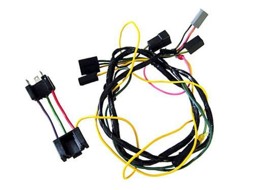 2210-W Mopar 1971 Plymouth Cuda Road Lamps Harnesses