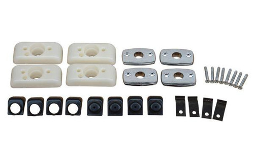 810BUK-KIT Mopar 1968-70 A,B,C-body Bucket Seat Headrest Mounting Kit