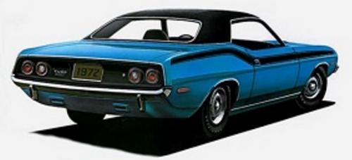 Mopar Vinyl Tops 1970-1974 Barracuda, 1973-1974 Challenger