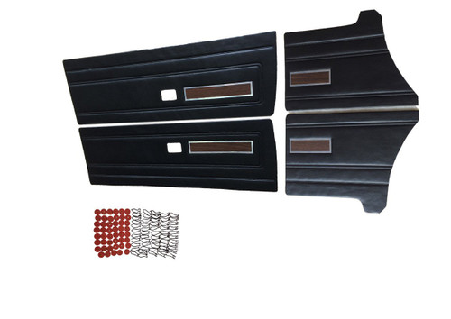W6505 Mopar 1971 Duster and Duster Demon 340 F/R DP Woodgrain (Black)