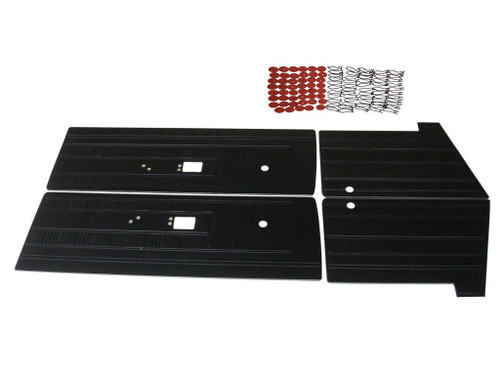 6510 1970 Dart GT Swinger  Front and Rear Door Panel Set