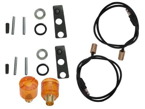 252-69LKIT Mopar 1967-69 Plymouth Roadrunner and GTX Turn Signal Indicator Lens Kit