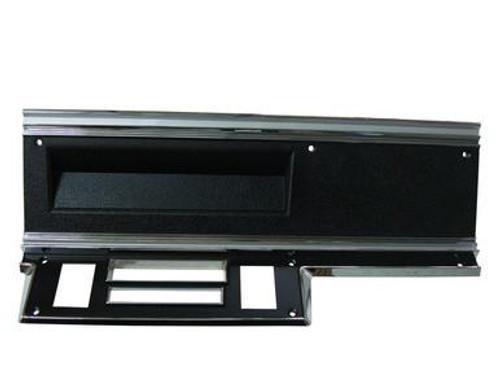 316-D67DL Mopar 1967-69 Dodge Dart Dash Heater Delete Bezel