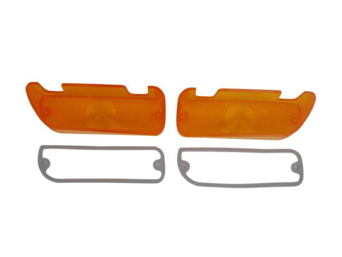 1286-L68 Mopar 1968-69 Plymouth GTX and Roadrunner Parking Light Lenses