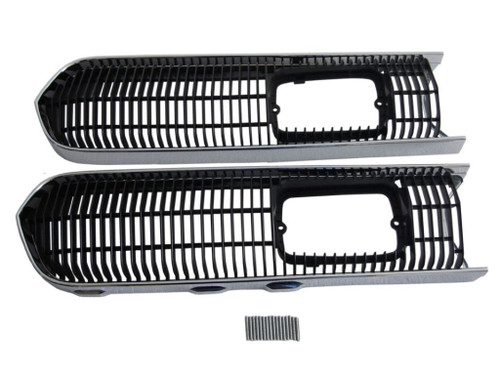 3308S-SET Mopar 1968 Plymouth Barracuda Grille Trim and Screen Set