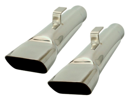 "307-S25 Mopar A-body 2-1/2"" Stainless Steel Exhaust Tips"
