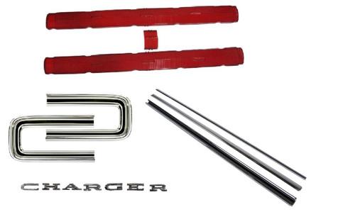 163-67TLKIT Mopar 1966-67 Dodge Charger Taillight Kit