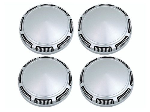 247-SD Mopar A,B,E-body Stainless Steel Dog Dish Hub Cap