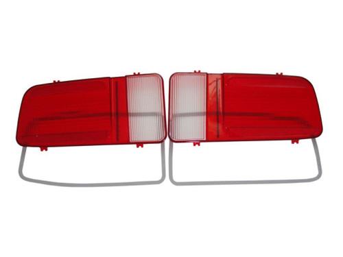 216-71L Mopar 1971 Plymouth Cuda Taillight Lenses