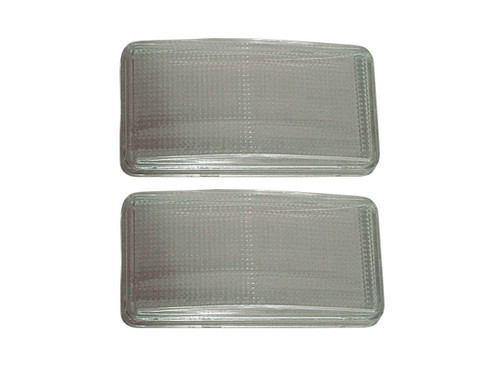 164-66L Mopar 1966-67 Dodge Charger Parking Light Lenses