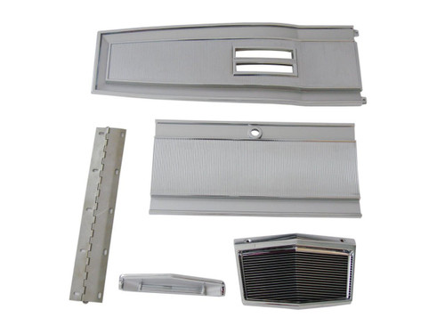 131A-6SET Mopar 1966-68 B-body Automatic Console Plate Kit