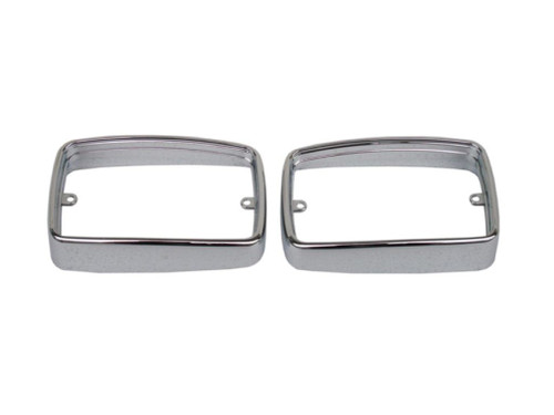 3286-B Mopar 1970-72 Plymouth Duster Parking Light Bezels