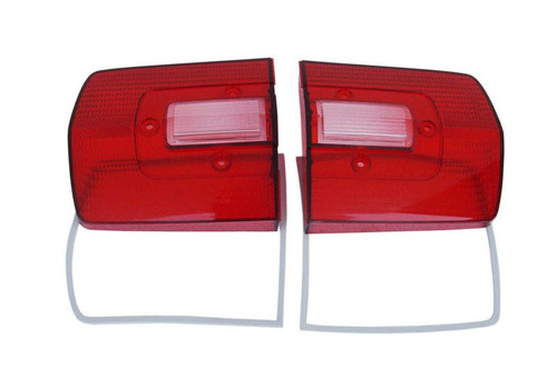 165-68L Mopar 1968 Plymouth GTX and Roadrunner Taillight Lenses