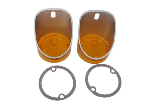162-A Mopar 1972 Plymouth B-body Parking Light Lenses