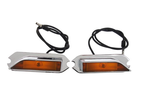 252-70RR Mopar 1970 Plymouth Roadrunner and GTX Hood-Mounted Turn Signal Indicator