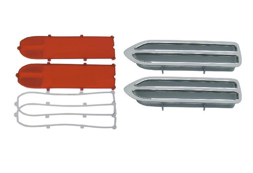 133-70RRBLKIT Mopar 1970 Plymouth Roadrunner Taillight Kit